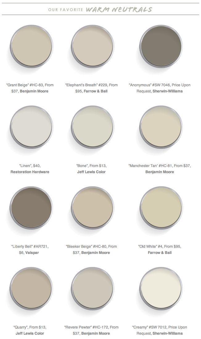warm neutral paint recommendations dc metropolitan real estate